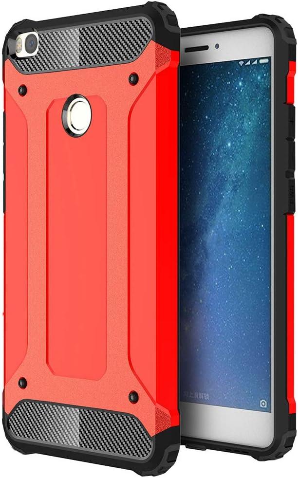 EabHulie Xiaomi Mi MAX 2 Funda, Dual Layer TPU + PC Híbrida ...