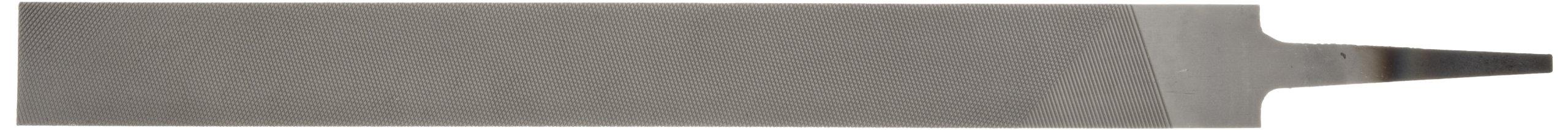 PFERD Hand File, American Pattern, Double Cut, Rectangular, Medium, 10'' Length, 31/32'' Width, 1/4'' Thickness