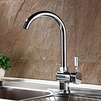 auralum® elegant mischbatterie einhebel armatur wasserhahn für ... - Spüle Armatur Küche