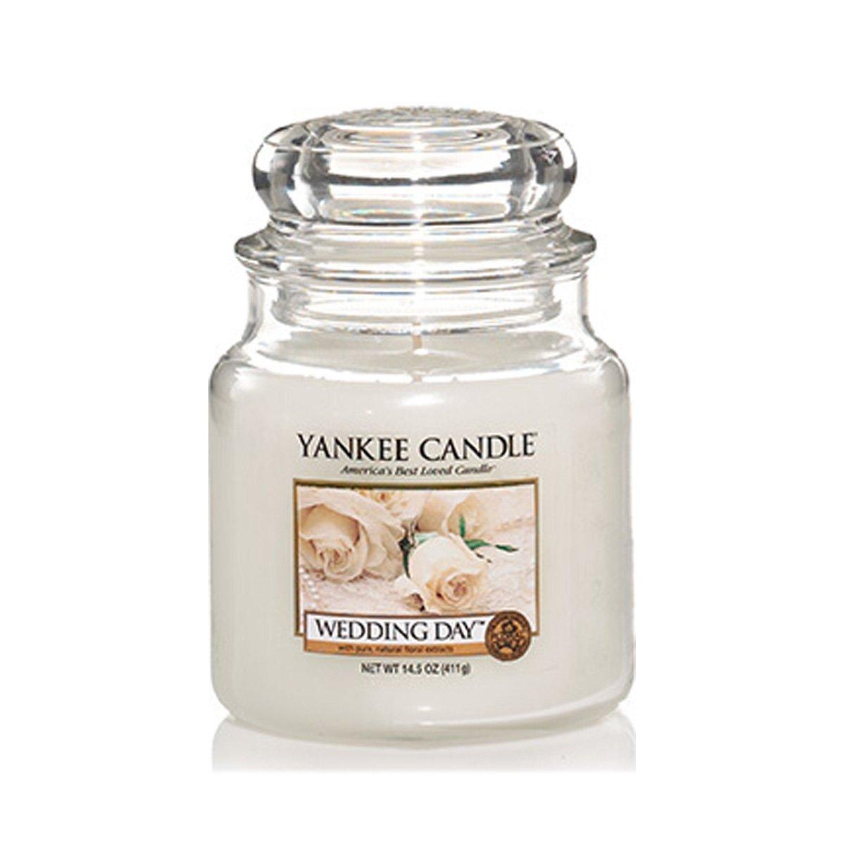 Yankee Candle Medium Jar Candles, Wedding Day: Amazon.co.uk: Kitchen ...