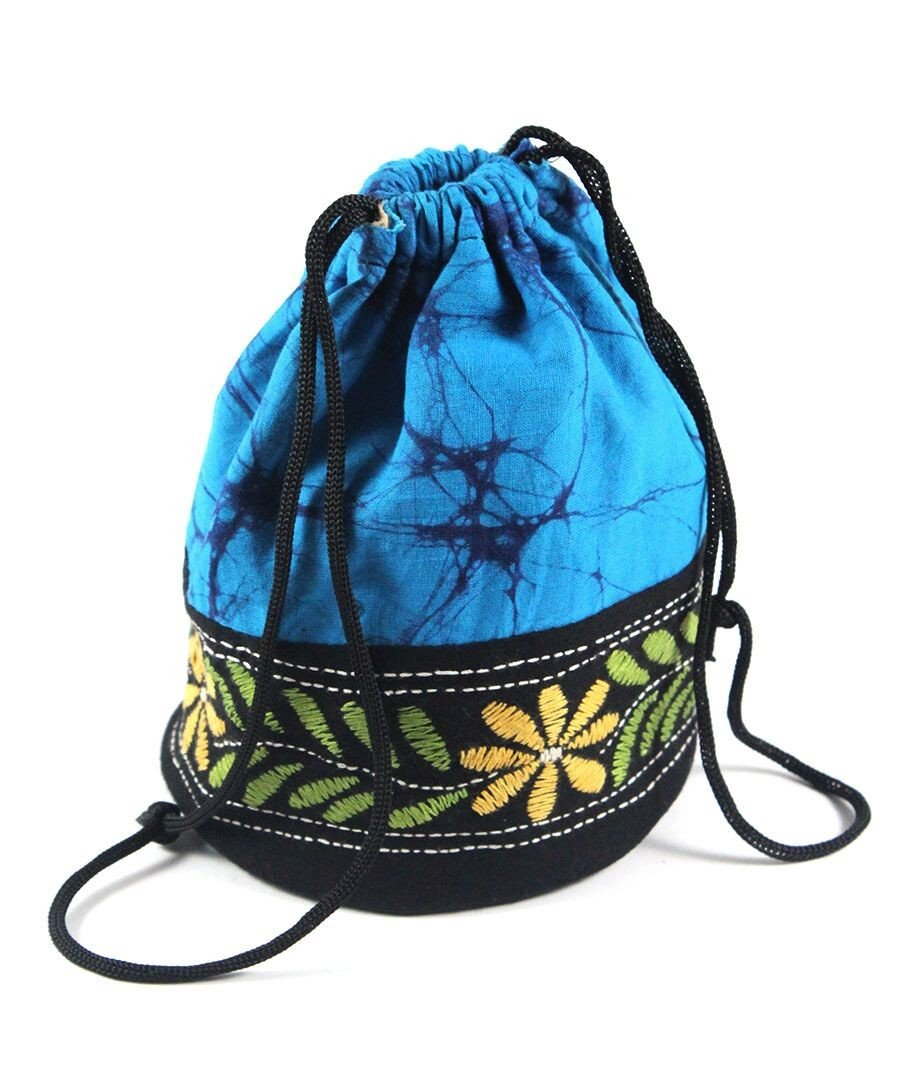 Ethnic Kantha Art Potli Bag/ Bridal Clutch/ Gifting/ Storing Precious Jewellery