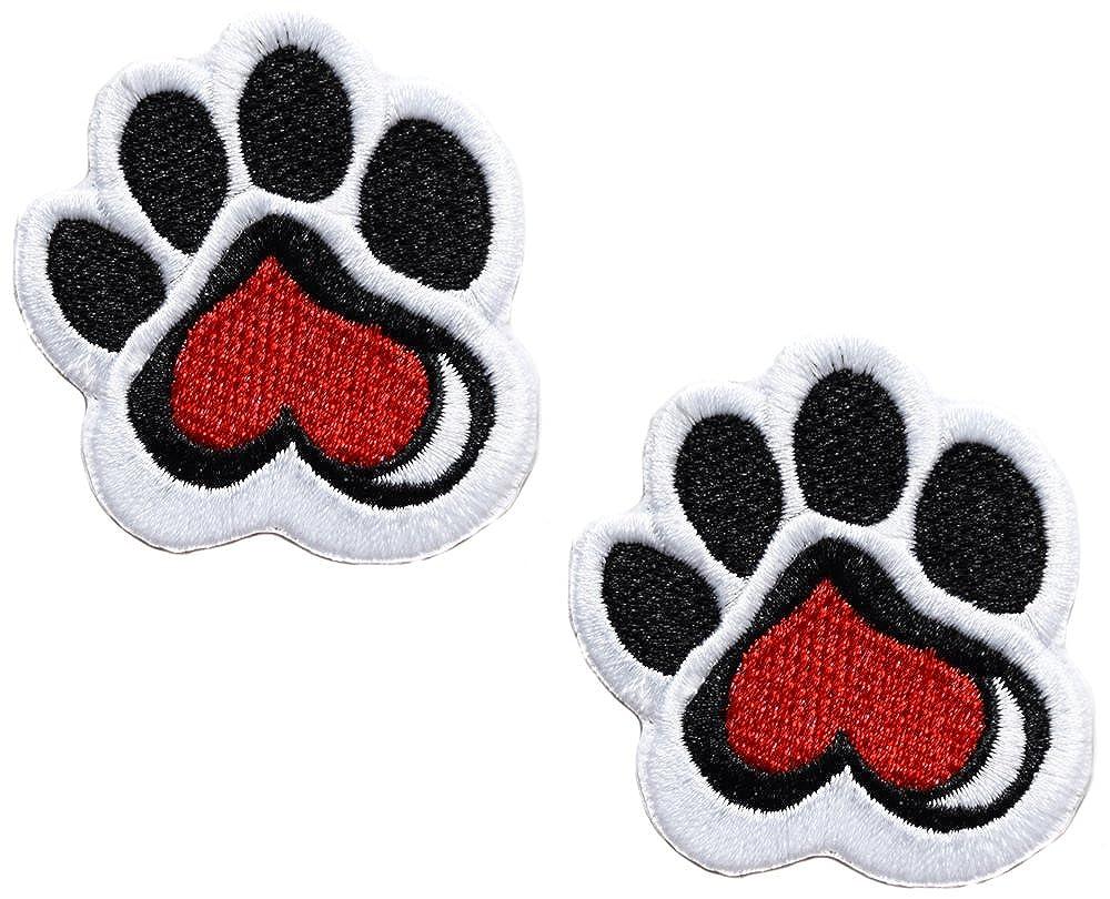 2 coches pata gato perro oso PATCHE Badge 5 x 4,5 cm Biker ...