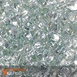 Starfire Glass 10-Pound Fire Glass 1-Inch Crystal Ice Reflective Fire-Diamonds