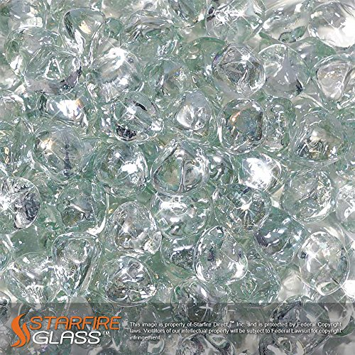 Starfire Glass 10 Pound Reflective Fire Diamonds