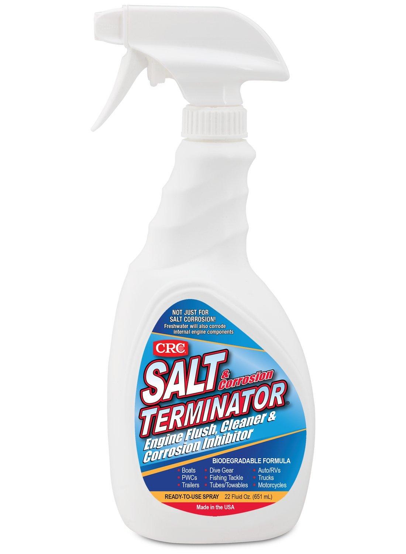 CRC Salt Terminator Engine Flush, Cleaner & Corrosion Inhibitor, 22 Fl Oz. by CRC