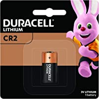 Duracell Specialty Ultra CR2 3V Lithium Photo Battery, 1 Pack