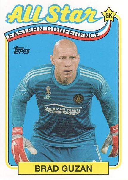 save off 49fc6 6fa95 2019 Topps MLS Soccer All Stars #AS-BG Brad Guzan Atlanta ...