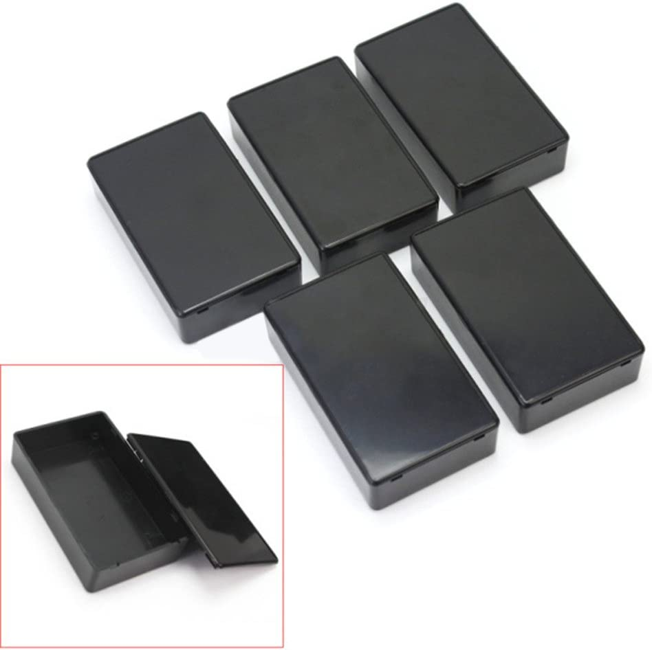 5Pcs100x60x25mm DIY Plastic Electronic Project Box Enclosure Instrument Case  ¾o