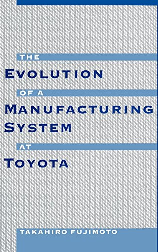 (The Evolution of a Manufacturing System at Toyota)