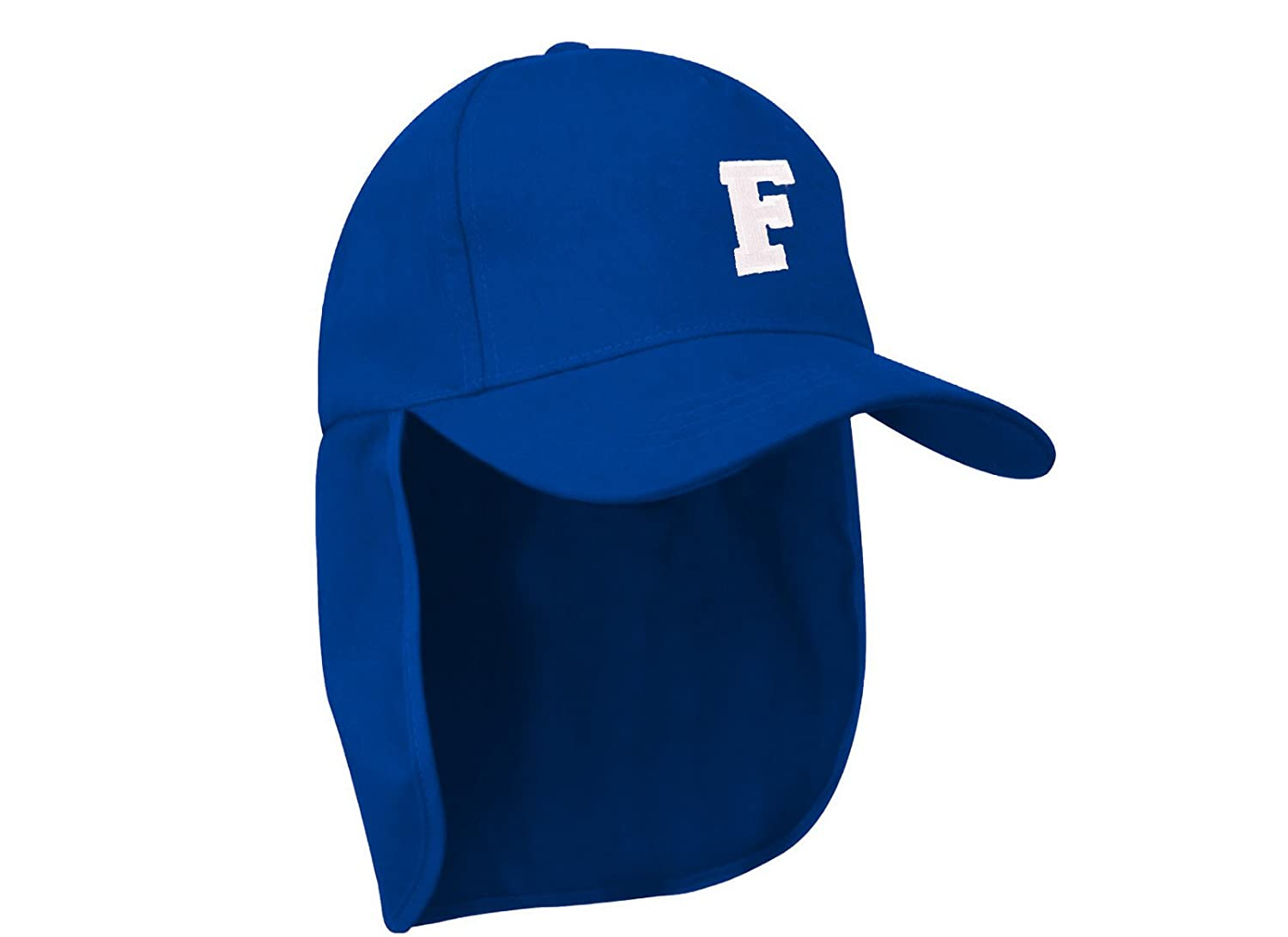 2ed6c99f40f Junior legionnaire Style Baseball Cap A-Z Letter Boy Girl Children ...
