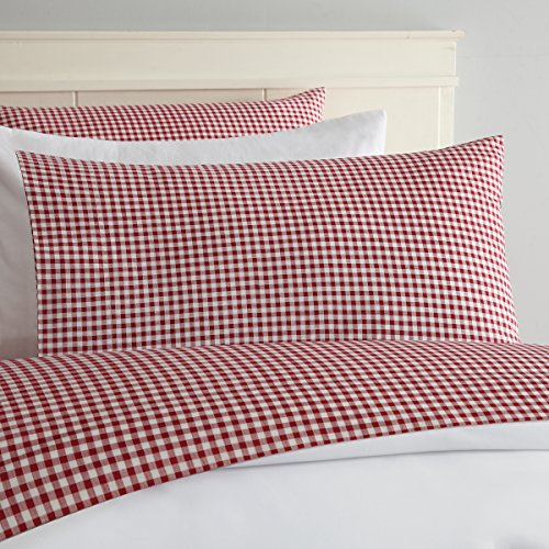 red and white sheets - 1