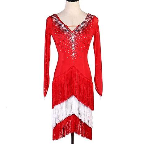 Vestido de Competencia Profesional de Baile Latino para Mujeres ...