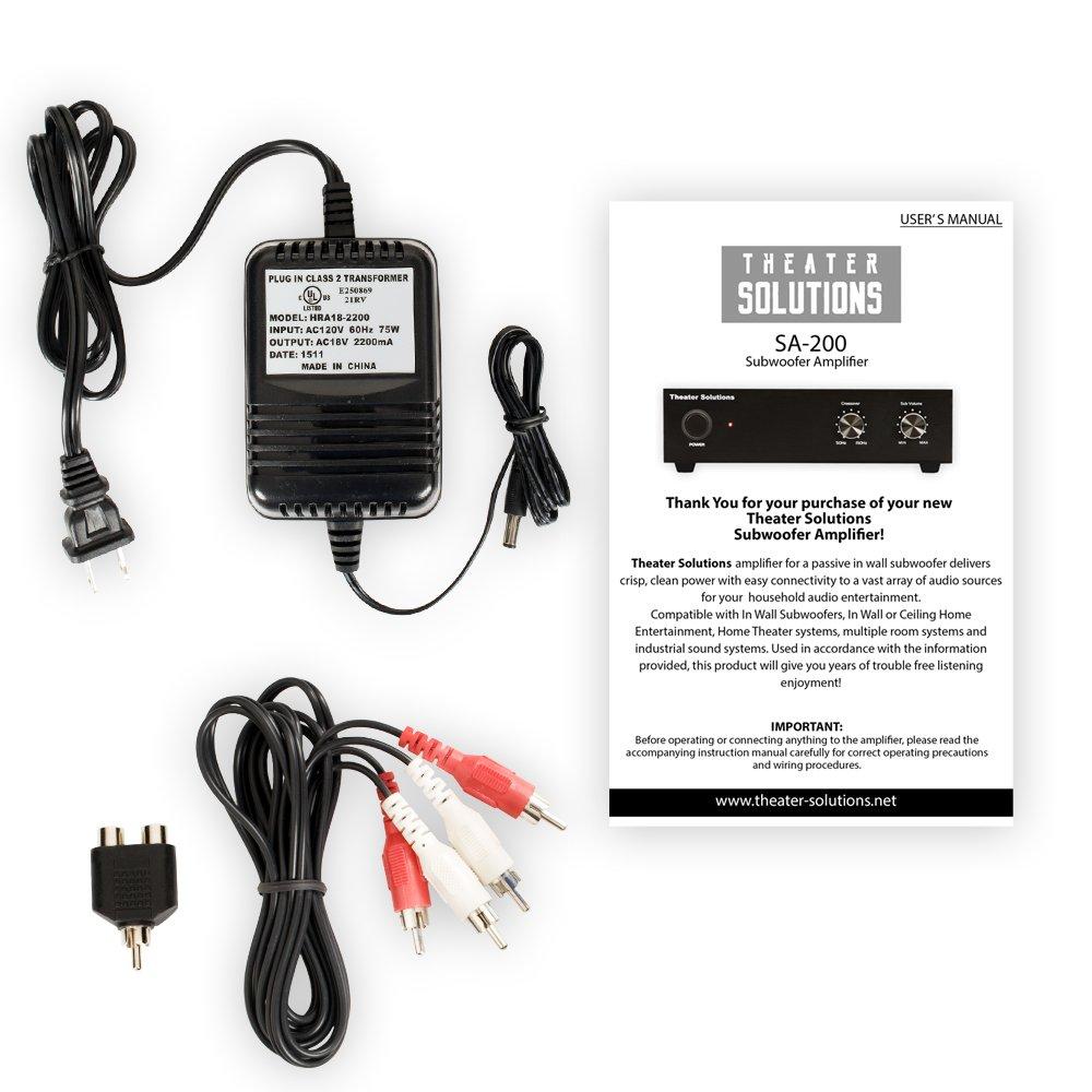 Amazon.com: Theater Solutions TS1000 Passive 10\