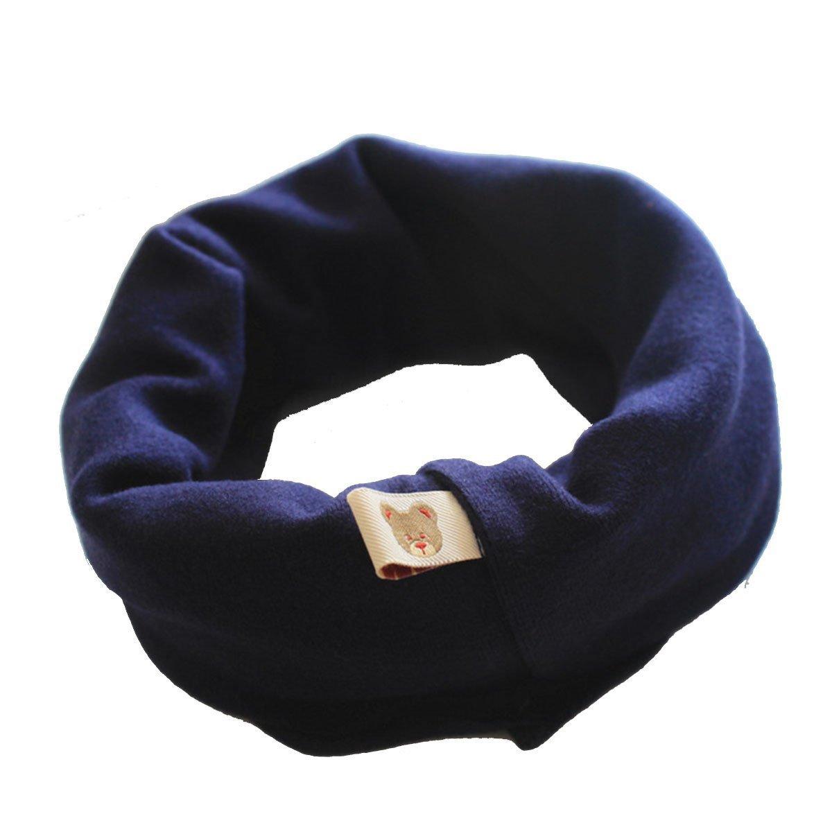 Tukistore Sciarpe Loop Autunno Inverno Neonate Gufi Colletto Sciarpa di cotone O-ring Sciarpe XD0003022SE
