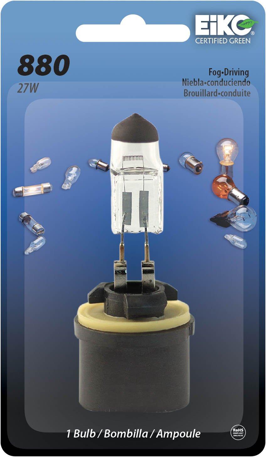 EIkO Auto Lighting Eiko 880-BP 800 Series Halogen Lamp Pack of 1