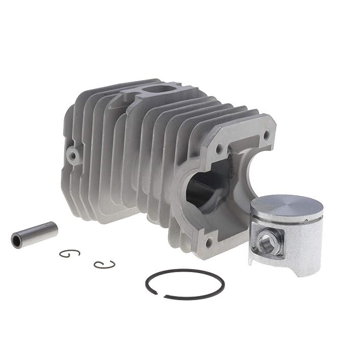 Cilindro completo adaptable 40 mm para Husqvarna 40 y 240R: Amazon ...