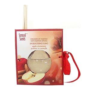 Sensual Scents Oil Diffuser With Rattan Sticks- Apple Cinnamon (45ml) 2103424