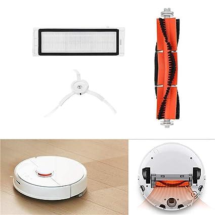 Accesorios para Aspiradoras Kit de Reemplazo Cepillo principal+ Filtros+Cepillos laterales para el robot aspirador