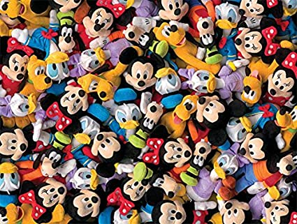 Ceaco Disney Collections Plush Puzzle (750 Piece)