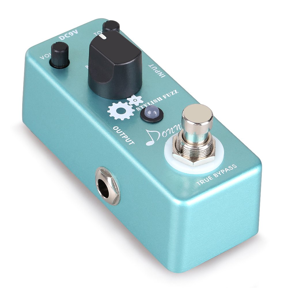 Donner Guitar Stylish Fuzz Traditional Rich,Aluminium-alloy Classic Effects Pedal by Donner