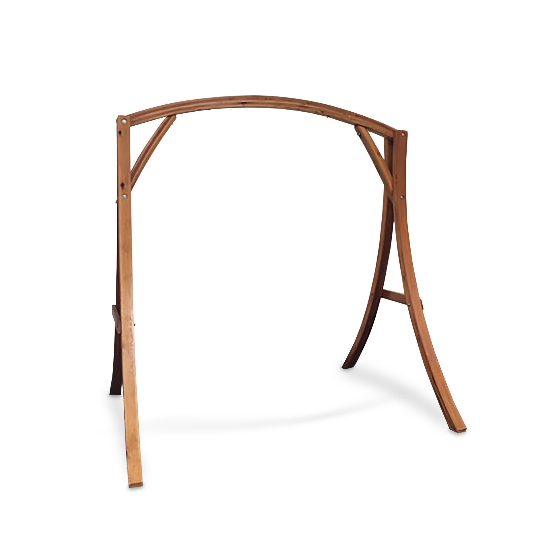 South Mission Wooden Arch Wooden Hammock Chair Swing Stand