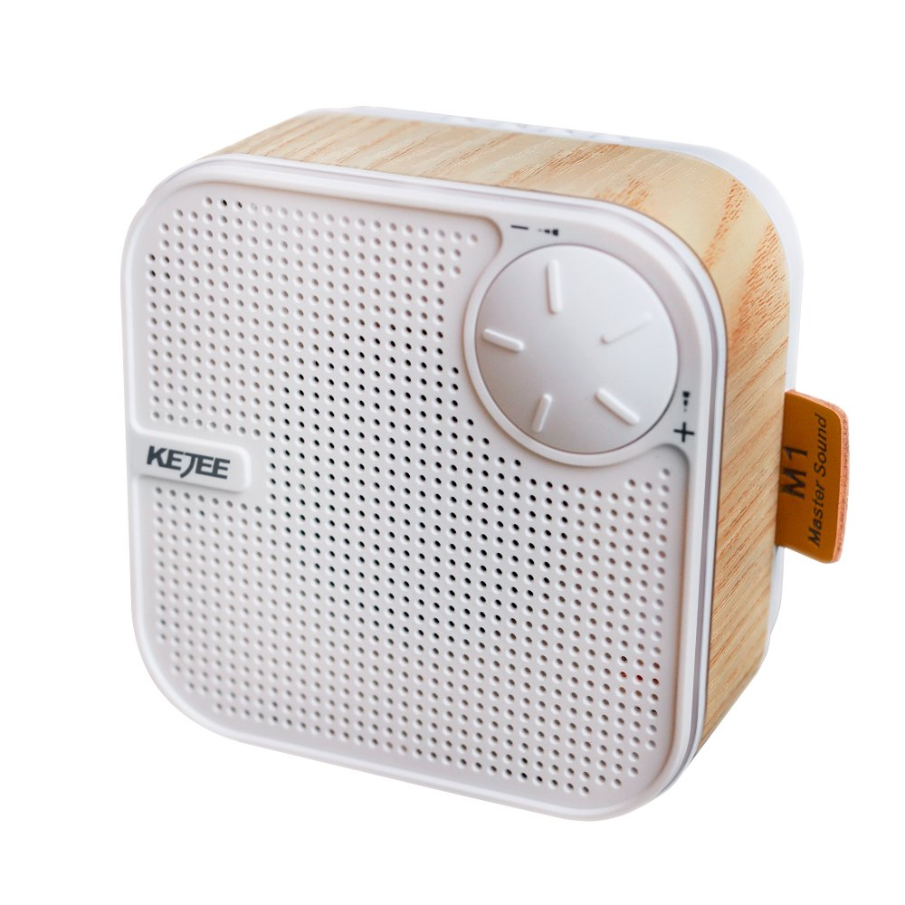 Wood Portable Bluetooth Speaker Mini Wireless Stereo Speaker, with 3.5mm Aux Audio/TF Card Inputs¡­