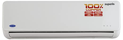 carrier 5 ton air conditioner. carrier superia split ac (1 ton, 5 star rating, white, copper) ton air conditioner
