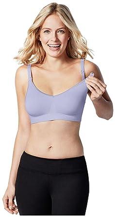 9bb6fde50cf DESIGNS Women s Maternity Body Silk Seamless Nursing Bra Lilac X-Large