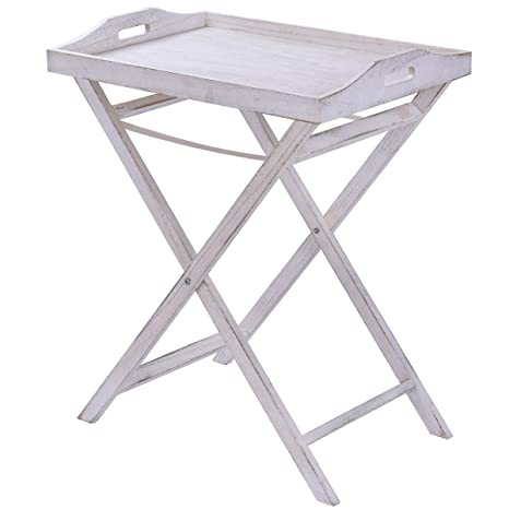 amazon com portable folding table tray end serving table stand sofa