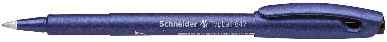 colore: Nero Schneider Topball 847 Penna a sfera confezione da 10 pezzi
