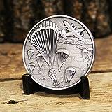 Paratrooper Challenge Coin - Amazing 3D Detail