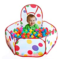 Sunsoar New Children Kid Ocean Ball Pit Pool Game Play Tent W/ Ball in/Outdoor