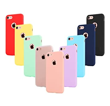 2daad16f05b Leathlux 9X Funda iPhone 6s Plus, Carcasa [No es para iPhone 6 / 6s] Fina  TPU Flexible Cover para Apple iPhone 6s Plus / 6 Plus: Amazon.es:  Electrónica