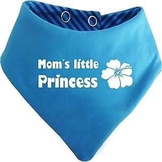 KLEINER FRATZ mitwachsendes Baby - und Kinder Wende - Halstuch Moms little Princess/in 7 Designs/Größen 0-36 Monate