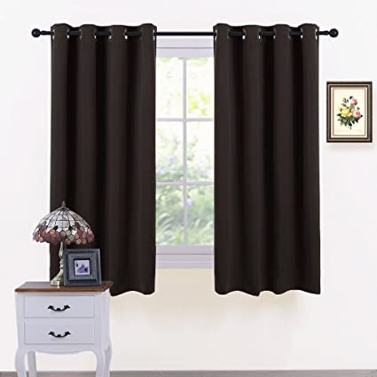Exceptionnel PONY DANCE Window Blackout Curtains   Thermal Insulated Grommet Curtain  Drapes Light Blocking Energy Efficient Panels