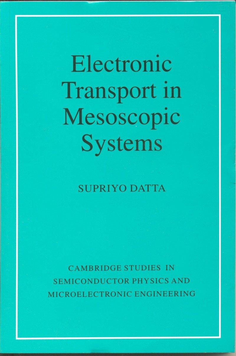 Electronic Transport In Mesoscopic Systems pdf epub