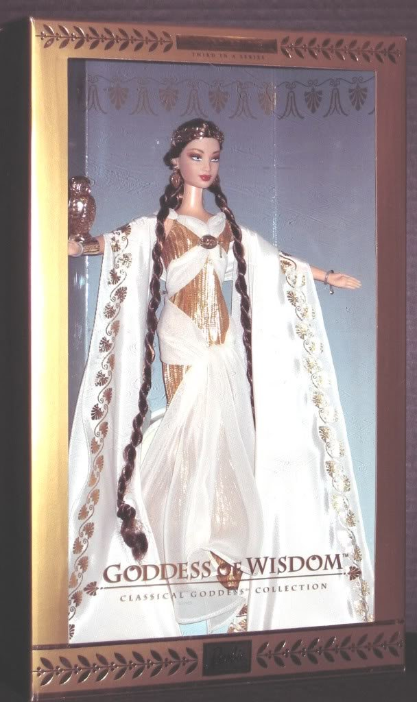 Barbie Collector Goddess   28733 Goddess Collector of Wisdom c5397b