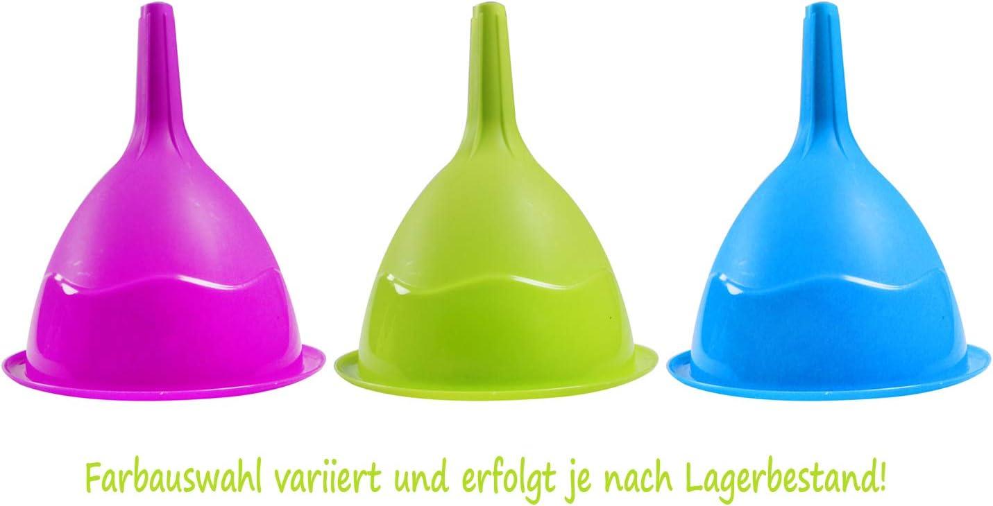 Werkstatt 250 St/ück - Papier com-four/® 250x Universal Einweg Einf/üll-Trichter aus Papier /Ø 10 cm Haushalt und mehr /Öl-Trichter als Einf/üllhilfe f/ür KFZ