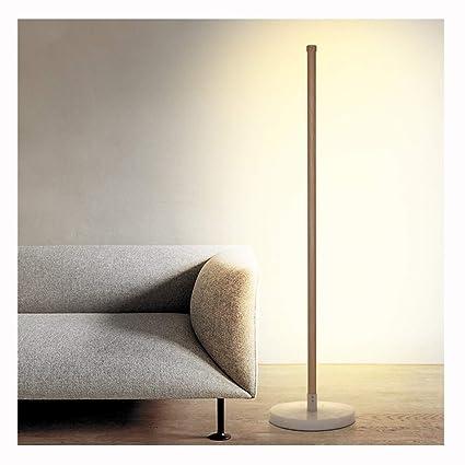 NIUZIMU Lámpara de pie de 128 cm/Lectura Luz de pie Ambiente ...