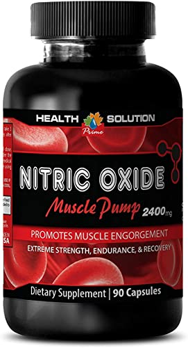 Nitric Oxide Supplement – Nitric Oxide Muscle Pump 2400MG – Boost libido 1 Bottle