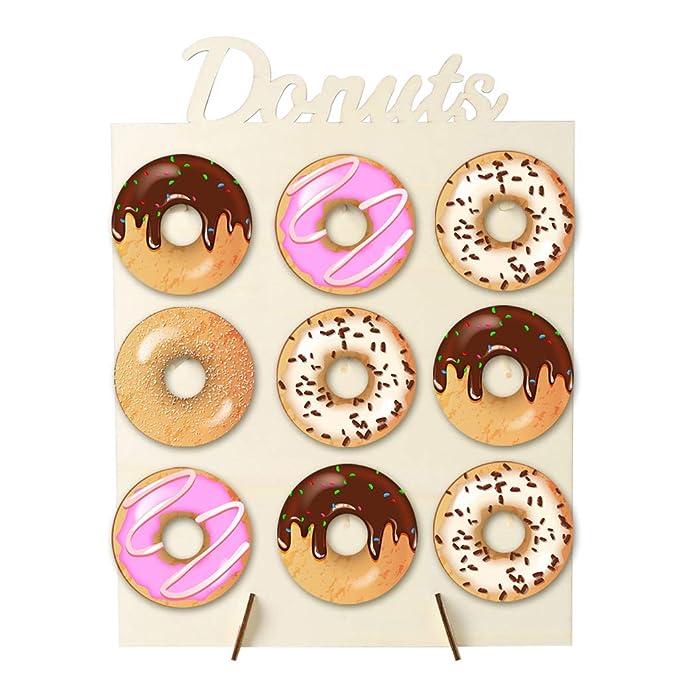 Mikiya Donut - Soporte de pared para caramelos, dulces, diseño de ...