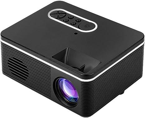 BIYI 1080P Full HD Proyector LED Soporte HDMI VGA AV USB Mini ...