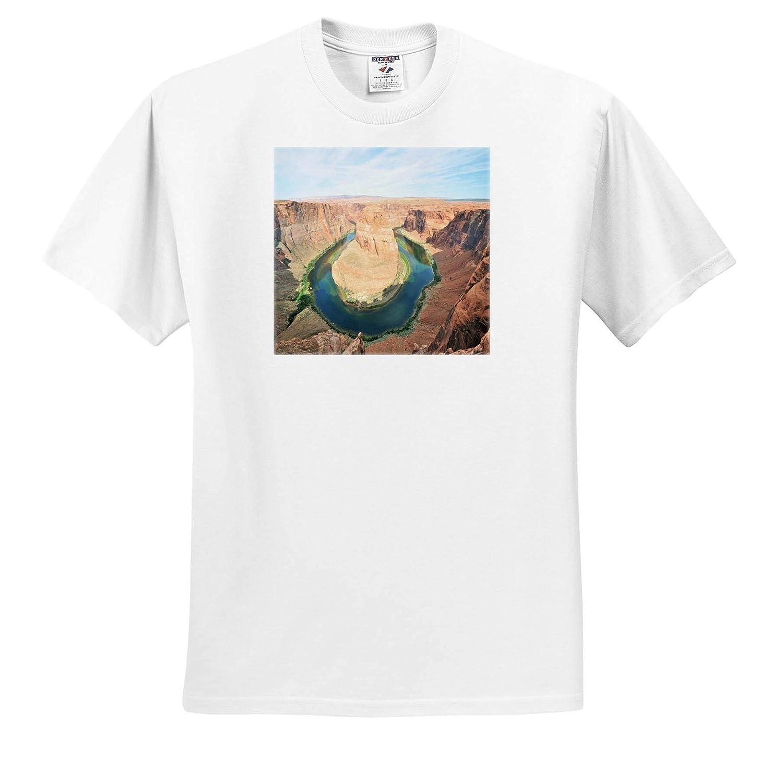 Scenery Adult T-Shirt XL ts/_314257 Horseshoe Bend Arizona 3dRose Dreamscapes by Leslie