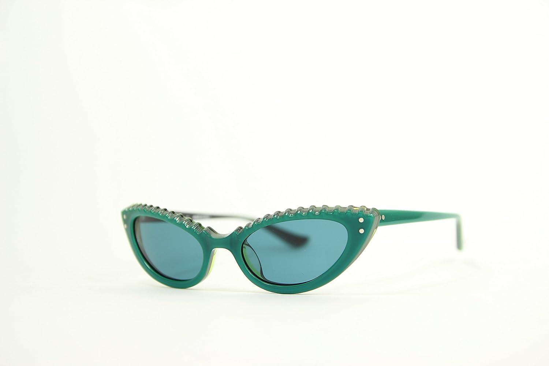 Moschino MO-69503 Gafas de sol, Green, 51 para Mujer: Amazon ...