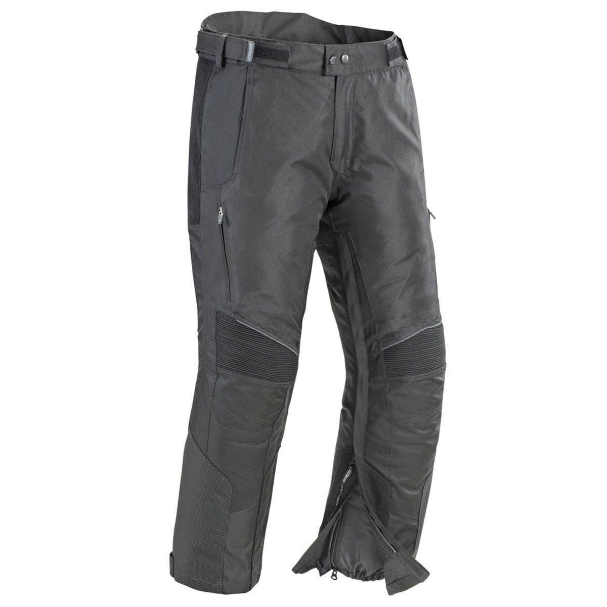 Joe Rocket 1745-1013 Men's Ballistic Ultra Textile Motorcycle Pants (Black, Short Medium)