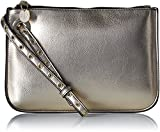 A|X Armani Exchange Metallic Medium Pouch