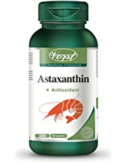 Vorst Astaxanthin 10mg 60 Capsules Antioxidant Supplement Joint Skin Eye Brain Health Anti-Aging Immune Function Sun Supplement Paleo Friendly