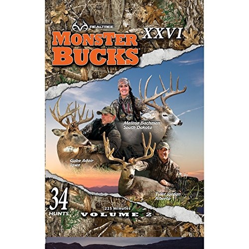 Realtree Outdoor Productions Monster Bucks XXVI Volume 2 DVD (2018 Release)