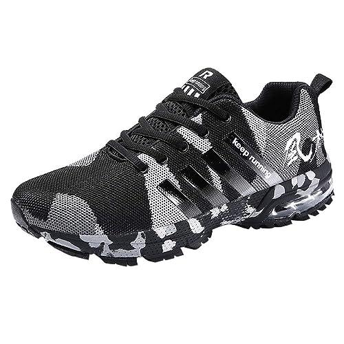 b6ddaeaa5e2e9 Logobeing Zapatillas Deporte Hombres Running Zapatos Hombre Deportivos  Casuales Zapatillas Running Hombre Auriculares Correr en Asfalto