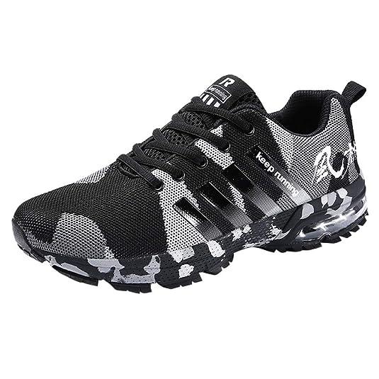 Logobeing Zapatillas Deporte Hombres Running Zapatos Hombre Deportivos Casuales Zapatillas Running Hombre Auriculares Correr en Asfalto Calzado Deportivo Hombre: Amazon.es: Zapatos y complementos